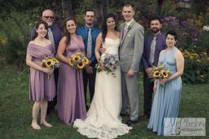 Barn wedding near Watertown NY