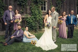 Upstate NY barn wedding
