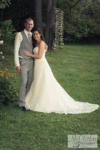 barn wedding near Potsdam, NY