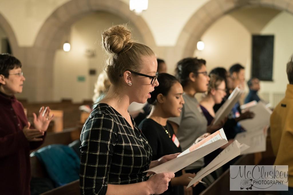 SLU Gospel choir