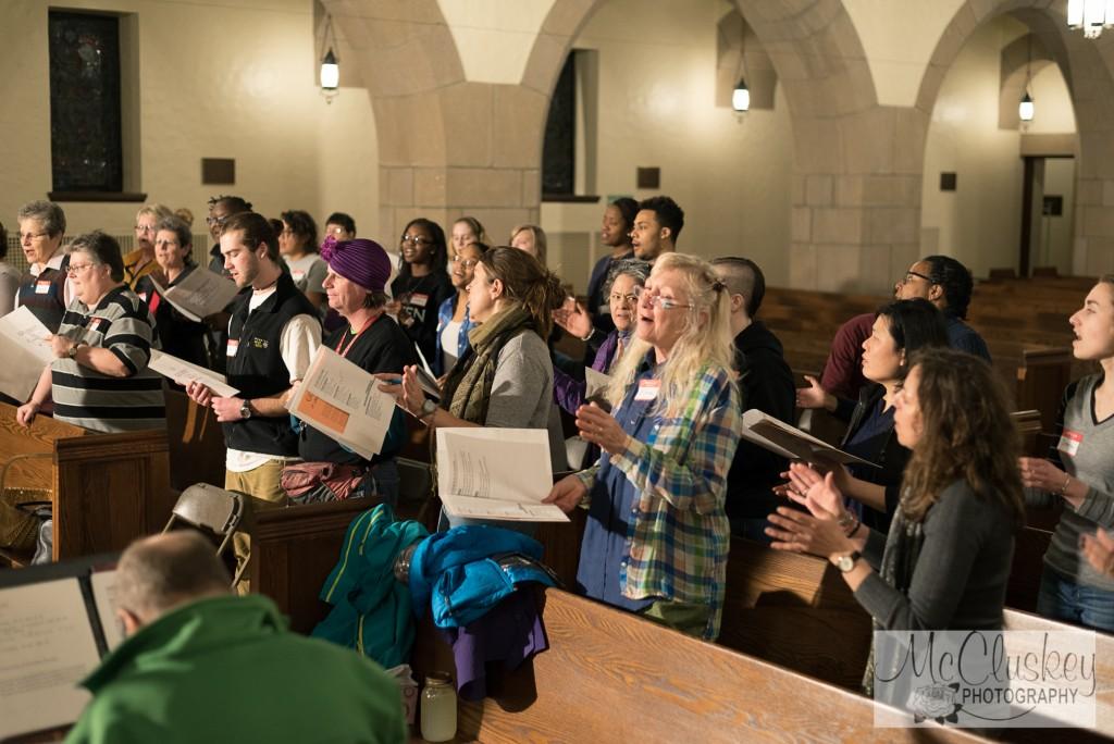 SLU gospel workshop