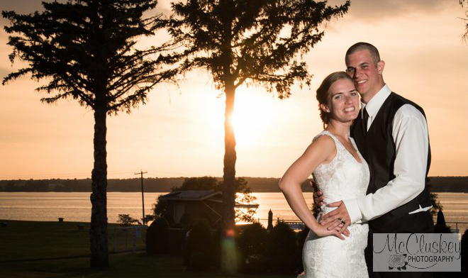 wedding sunset pictures