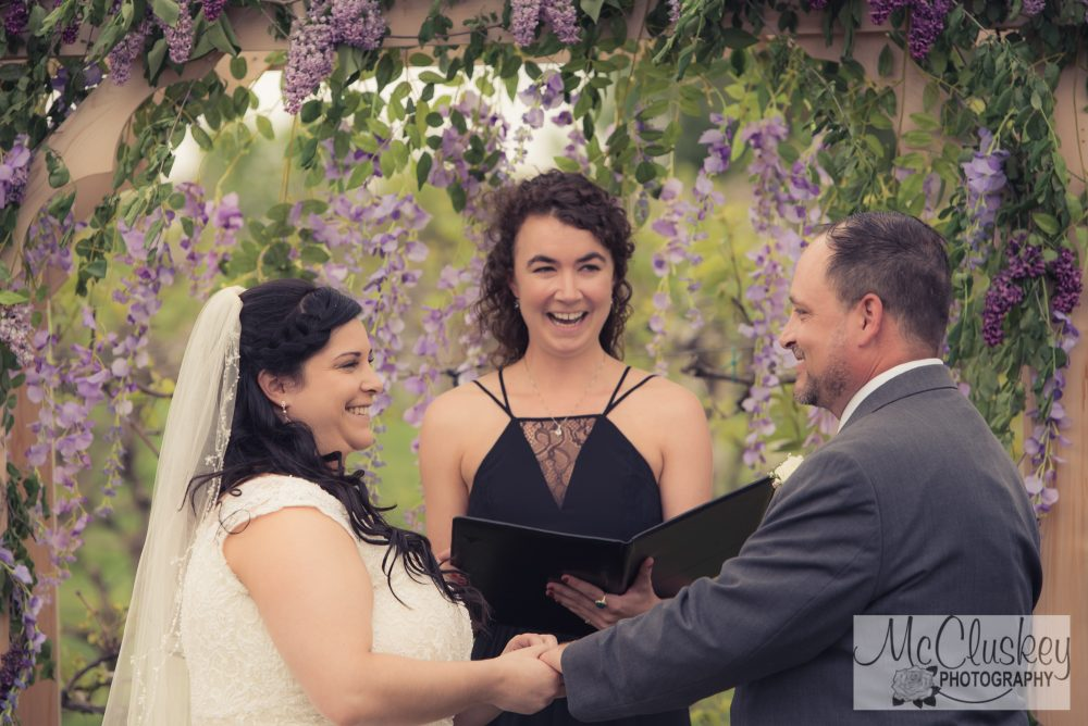 upstate NY vineyard wedding