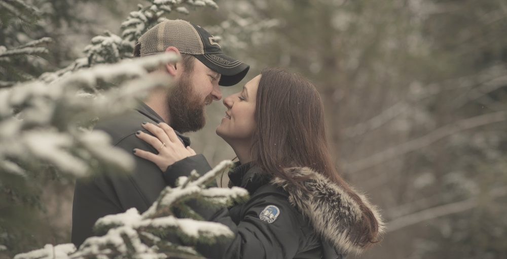 engagement photographers in Canton